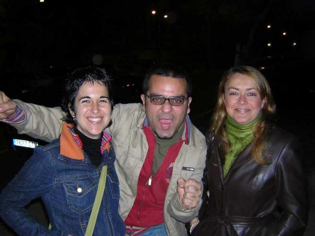 Tres fans