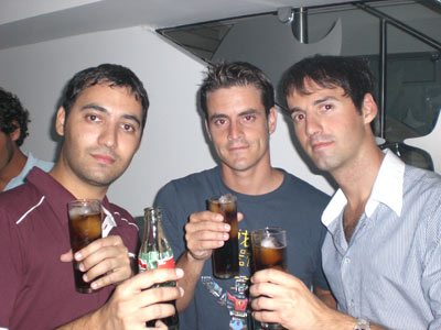 PacoM, Sergioli y Chuli