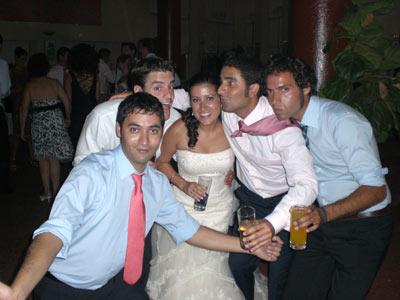 PacoM, Sergioli, Noe, Ruli y ToniM