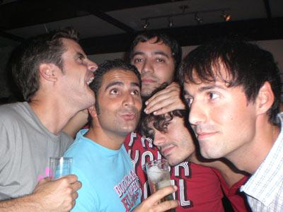 Sergioli, Ruli, PacoM, Juan_in y Chuli